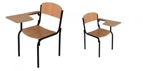 صندلی دسته دار امتحانی