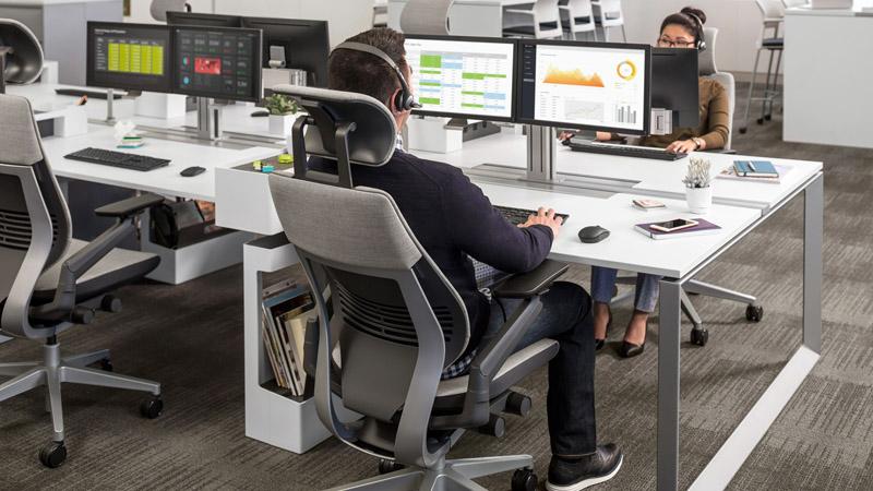 صندلی اداری ،صندلی کارمندی استاندارد