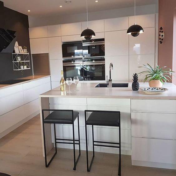 صندلی های اپنی در آشپزخانه های کوچک و کمجا