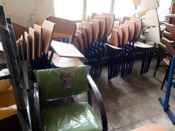 صندلی دانش آموزی مخصوص مدارس دست دوم