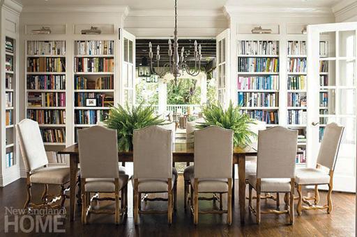 ایده های زیبا برای کتابخانه های خانگی