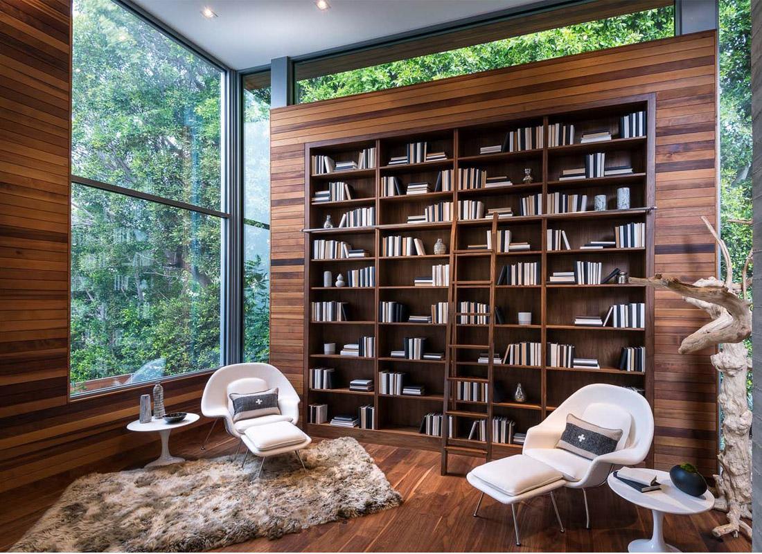 زیباترین کتابخانه های شخصی