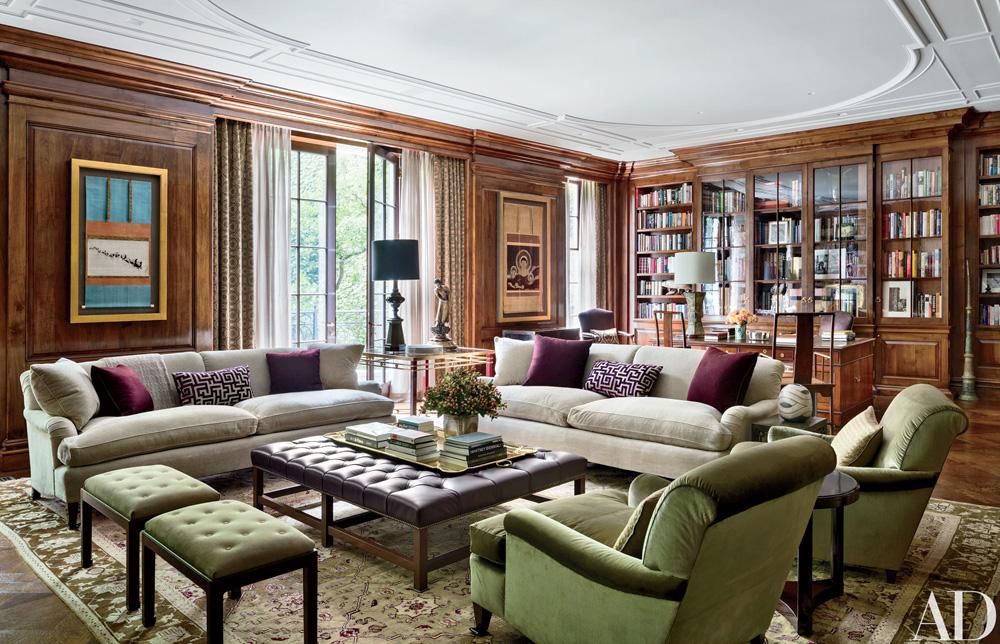 زیباترین کتابخانه های کلاسیک شخصی منازل
