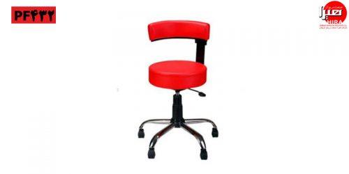 صندلی تابوره زیمنسی قرمز هیرا صنعت مریوان